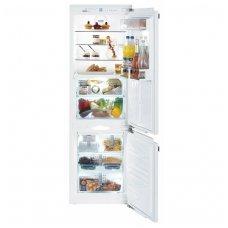 Liebherr įmontuojamas šaldytuvas su šaldikliu ICBN 3366 Premium