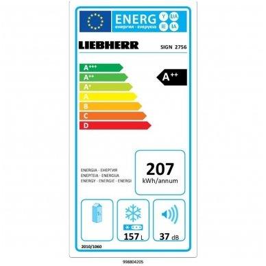 Liebherr įmontuojamas šaldiklis SIGN 2756 Premium 2