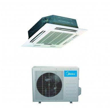 Midea kasetinis šilumos siurblys oro kondicionierius MCA3U-12FNXD0 + MOU-12FN8-QD6
