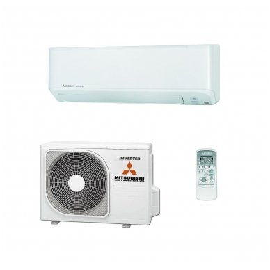 Mitsubishi Heavy Industries šilumos siurblys oro kondicionierius SRK25ZSP-W / SRC25ZSP-W