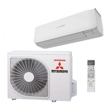 Mitsubishi Heavy Industries šilumos siurblys oro kondicionierius SRK/SRC25ZS-W