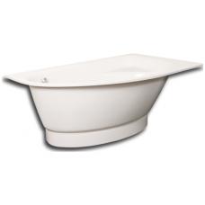 PAA asimetrinė vonia Tre Grande 1700x1000