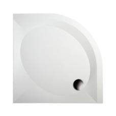 PAA pusapvalis dušo padėklas Art RO 800x800