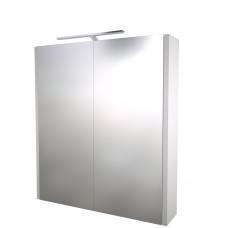Raguvos baldai veidrodinė spintelė su šviestuvu Gerda 60
