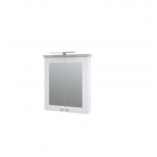 Raguvos baldai veidrodinė spintelė su LED šviestuvu Siesta 64
