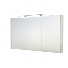 Raguvos baldai veidrodinė spintelė su šviestuvu Gerda 110