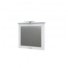 Raguvos baldai veidrodinė spintelė su šviestuvu Siesta 79