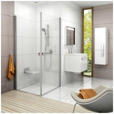 Ravak kvadratinė dušo kabina Chrome CRV1+CRV1 800x800