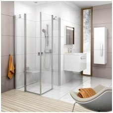 Ravak kvadratinė dušo kabina Chrome CRV2+CRV2 800x800