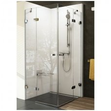 Ravak kvadratinė dušo kabina Brilliant BSRV4 800x800