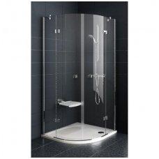 Ravak pusapvalė dušo kabina SmartLine SMSKK4 800x800