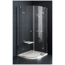 Ravak pusapvalė dušo kabina SmartLine SMSKK4 900x900