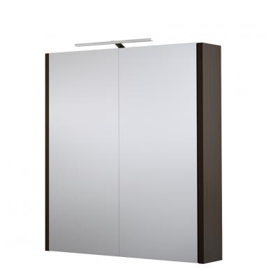 Raguvos baldai veidrodinė spintelė su šviestuvu Gerda 60 4