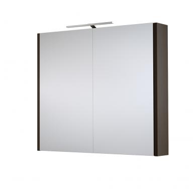 Raguvos baldai veidrodinė spintelė su šviestuvu Gerda 75 4