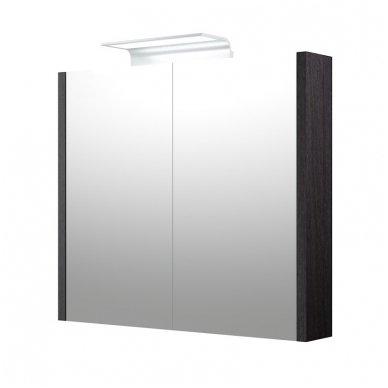 Raguvos baldai veidrodinė spintelė su šviestuvu Wave 75 4