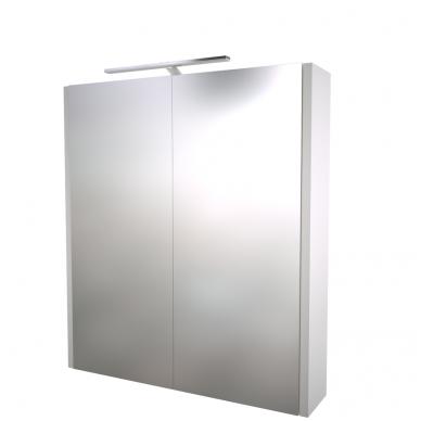 Raguvos baldai veidrodinė spintelė su šviestuvu Gerda 60 2