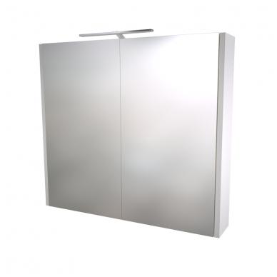 Raguvos baldai veidrodinė spintelė su šviestuvu Gerda 75 2