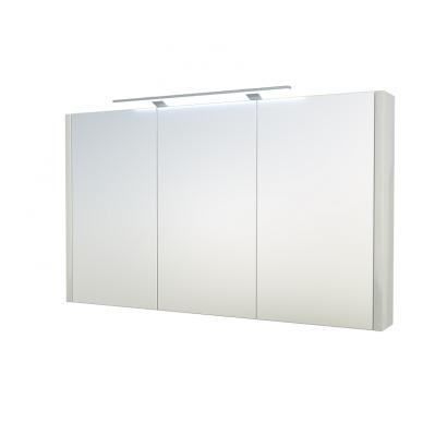 Raguvos baldai veidrodinė spintelė su šviestuvu Gerda 110 2