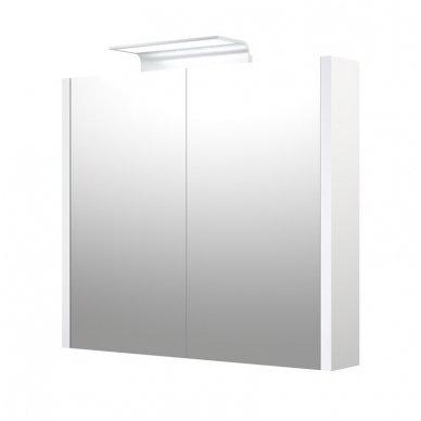 Raguvos baldai veidrodinė spintelė su šviestuvu Wave 75 2
