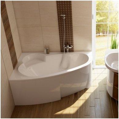 Ravak asimetrinė vonia Asymmetric 1700x1100 3