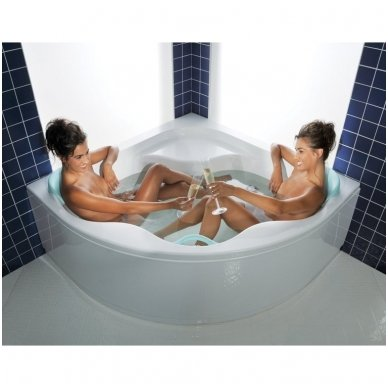 Ravak kampinė vonia Gentiana 1500x1500 3