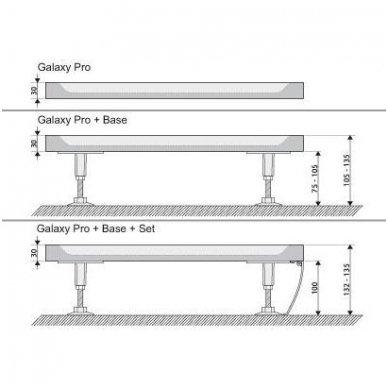 Ravak kvadratinis dušo padėklas Perseus Pro Flat 900x900 3