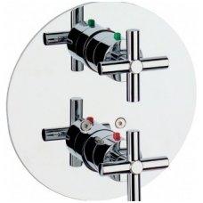 Roca potinkinis termostatinis maišytuvas voniai/dušui Loft