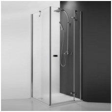 Roth kvadratinė dušo kabina GDOL1+GBP1/GDOP1+GBL1 800x800