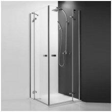 Roltechnik kvadratinė dušo kabina GDOL1+GDOP1 800x800