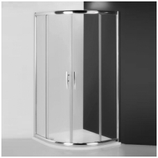 Roth pusapvalė dušo kabina PXR2N 800x800