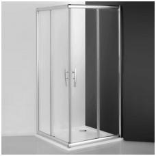 Roltechnik kvadratinė dušo kabina PXS2L+PXS2P 1000x1000