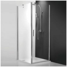 Roltechnik kvadratinė dušo kabina TCO1+TB 800x800