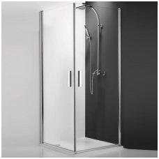 Roltechnik kvadratinė dušo kabina TCO1+TCO1 800x800