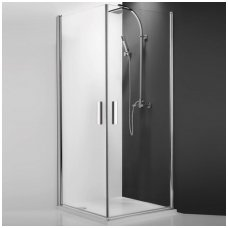 Roltechnik kvadratinė dušo kabina TCO1+TCO1 900x900