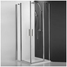 Roth kvadratinė dušo kabina TDO1+TDO1 1000x1000