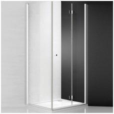 Roth kvadratinė dušo kabina TZOL1+TB/TZOP1+TB 800x800