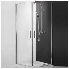 Roltechnik pusapvalė dušo kabina TR1 900x900
