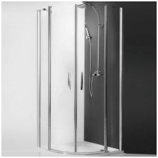 Roth pusapvalė dušo kabina TR2 Light 900x900