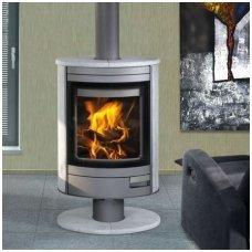 Romotop plieninė krosnelė-židinys Stromboli N 01 (Stone)