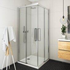 Roth kvadratinė dušo kabina ECS2L+ECS2P 1000x1000