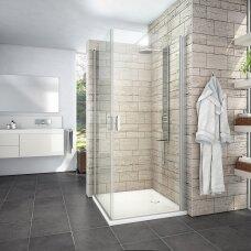 Roth kvadratinė dušo kabina LYE2+LYE2 1000x1000