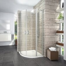 Roth pusapvalė dušo kabina LYR4 900x900