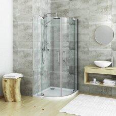 Roth pusapvalė dušo kabina Elegant Neo Line GR2N 1000x1000 / 1100x1100