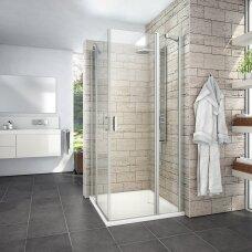 Roth kvadratinė dušo kabina LYE4+LYE4 800x800