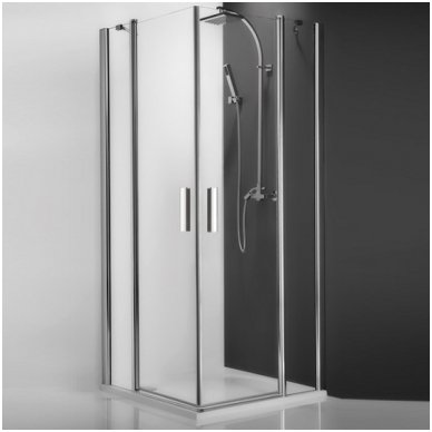 Roth kvadratinė dušo kabina TDO1+TDO1 900x900