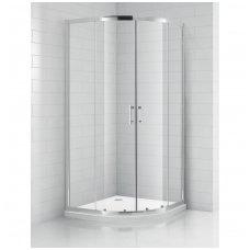 SaniPro pusapvalė dušo kabina OBR2 800x800 4000701