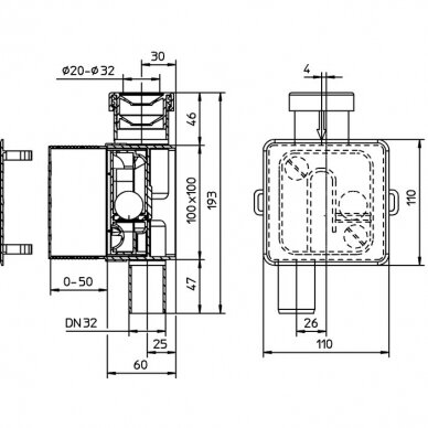 Sifonas oro kondicionieriams HL138 3