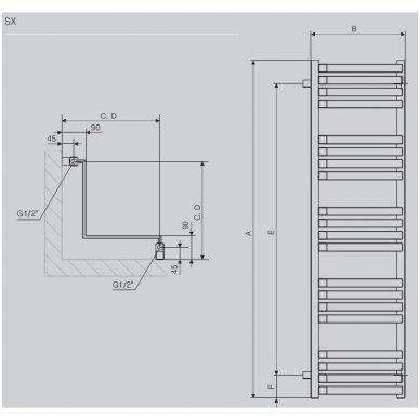 Terma Technologie gyvatukas Incorner 2