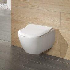Villeroy&Boch pakabinamas WC su dangčiu Subway 2.0
