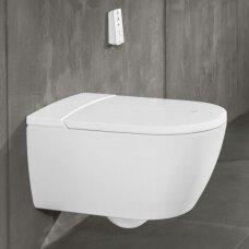 Villeroy&Boch pakabinamas WC / bidė su dangčiu ViClean I100 DirectFlush